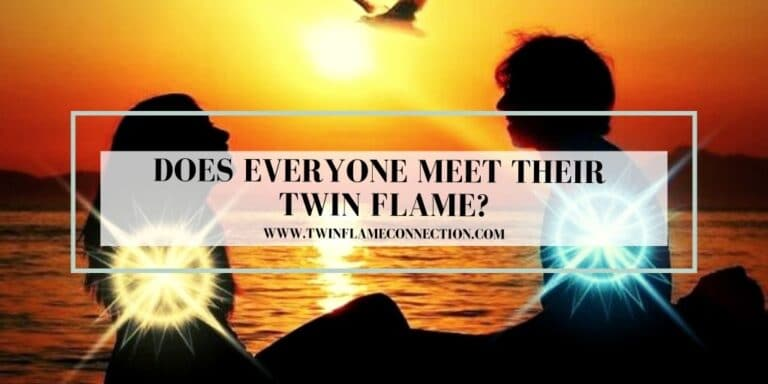 Does Everyone Meet Their Twin Flame?